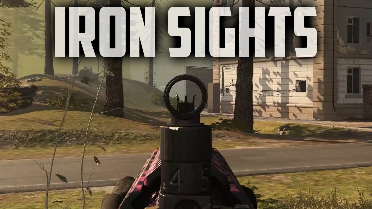 The M4A1 Assault Rifle With Iron Sights Is Unstoppable