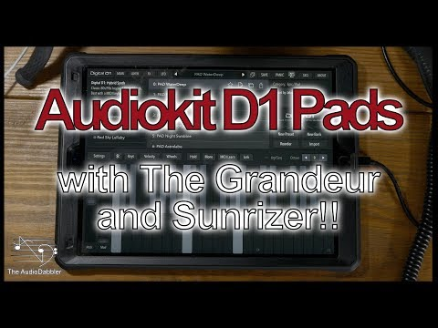 AudioKit Digital D1 plays nicely with The Grandeur and Sunrizer
