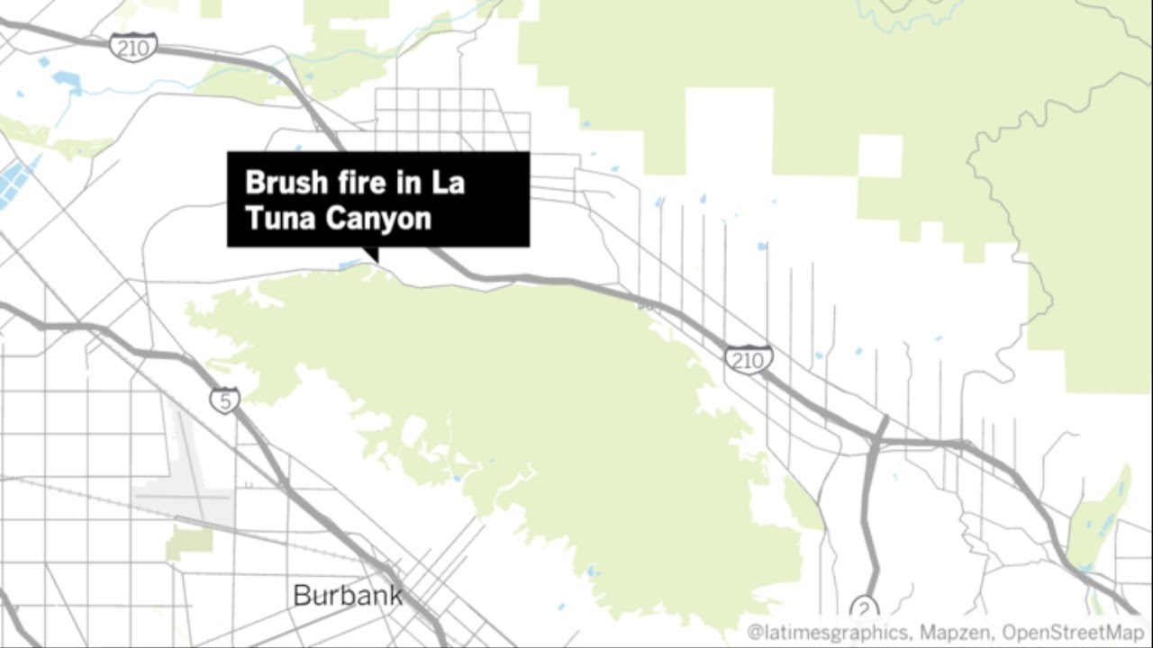 La Tuna Canyon Fire Near Burbank Grows To 5000 Acres And Forces Evacuations