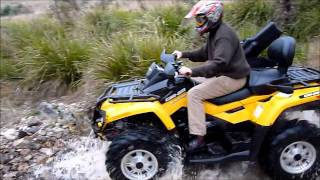 Review Can Am Outlander 650 Max XT