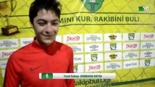 Yusuf Subaşı Newbosna United Röportaj  / İstanbul / iddaa Rakipbul Ligi 2015 Açılış Sezonu