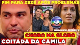 Pior COMUNICADO! Tristeza após Camila Pitanga e Zezé Di Camargo... Choro no Encontro da Globo após.