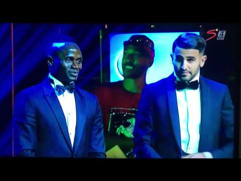 AFRICA PLAYER OF THE YEAR 2016 RIYAD MAHREZ