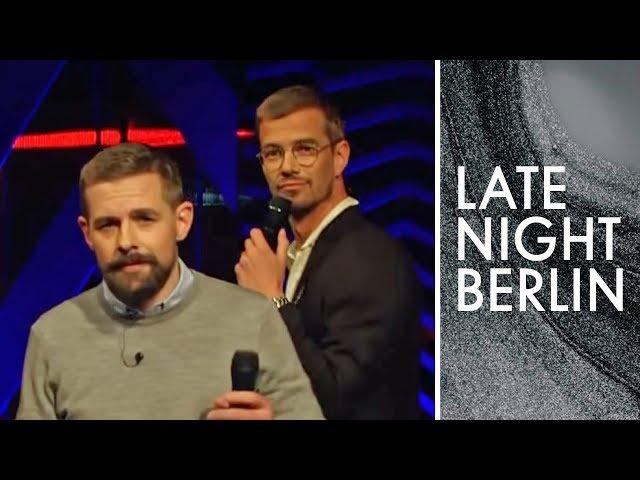 Joko und Klaas wieder vereint: Hundwelpen & Co sind auch am Start! | Late Night Berlin | ProSieben