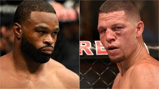Nate Diaz interested in welterweight title fight against Tyron Woodley | ESPN