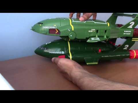 New 2015 Thunderbirds Are Go Supersize Thunderbird 2 And Thunderbird 4 Toy!!!
