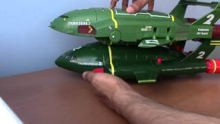 New 2015 Thunderbirds Are Go Supersize Thunderbird 2 and Thunderbird 4 Toy!!!