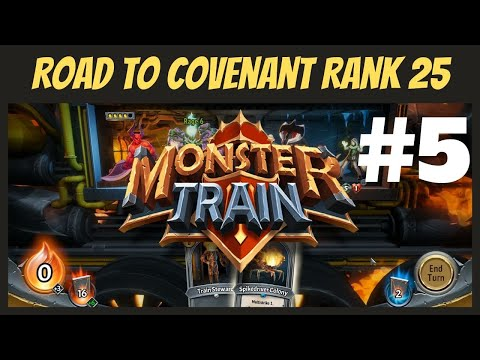 Pro Plays? - Road to Covenant Rank 25 Episode 5 | Monster Train |