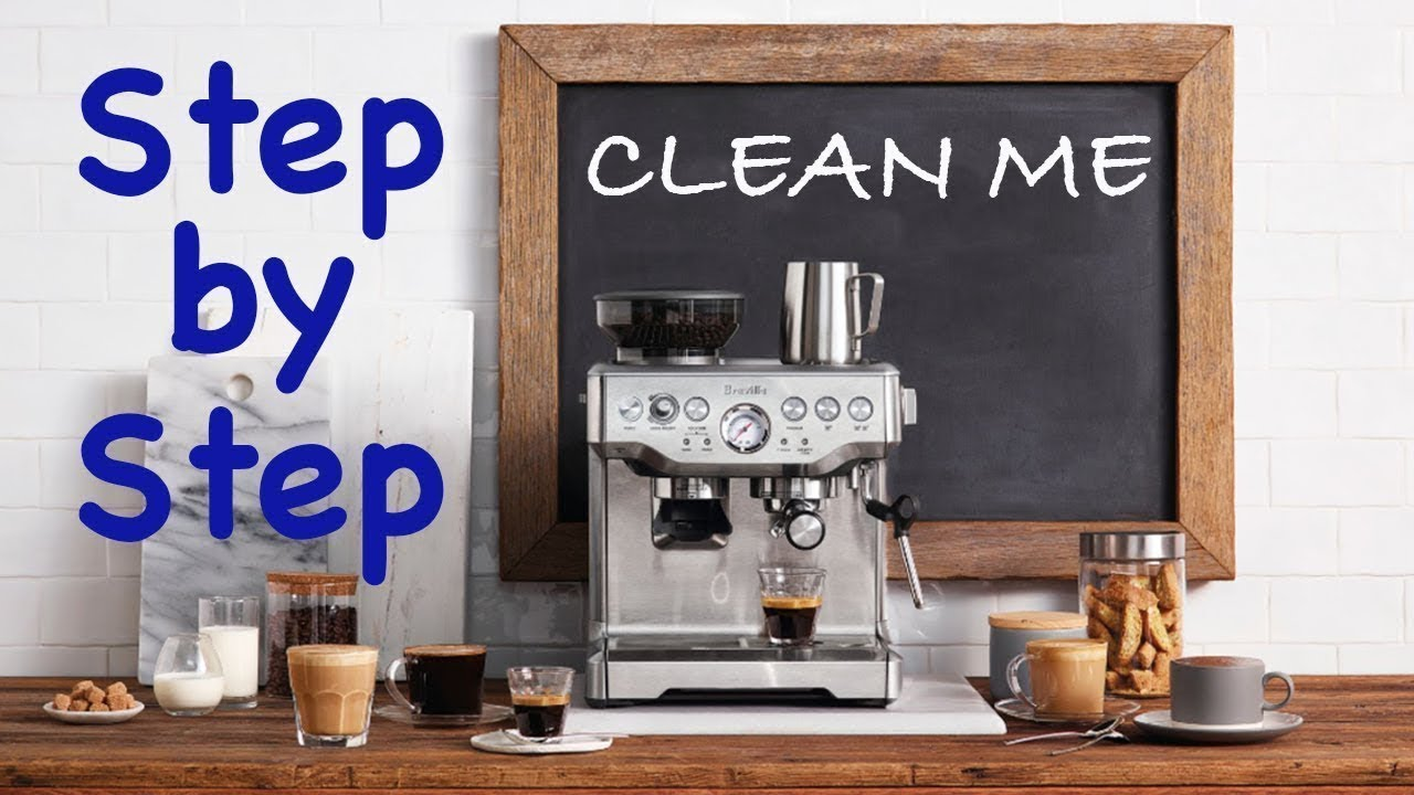 Breville Clean Me How To Youtube