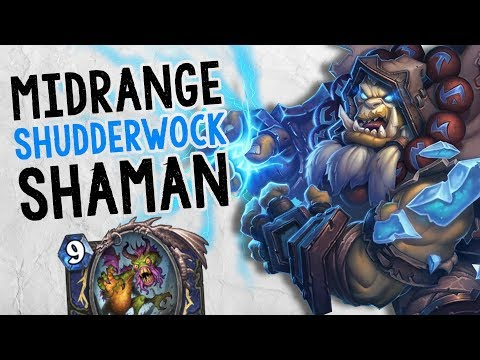 PLAYING SHUDDERWOCK FOR VALUE! | Midrange Shaman | Constructed | The Boomsday Project | Hearthstone