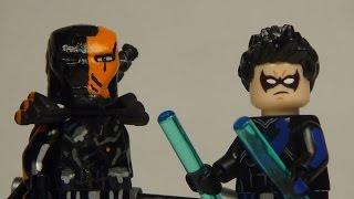 Custom Lego DC: Deathstroke & Nightwing minifigure UPDATES