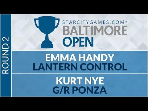 SCGBALT - Round 2 - Emma Handy vs Kurt Nye