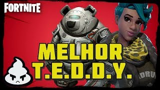 FORTNITE MELHOR TEDDY Patch 8.0! YOU ARE NOT A BEAR! Fortnite Salve o Mundo