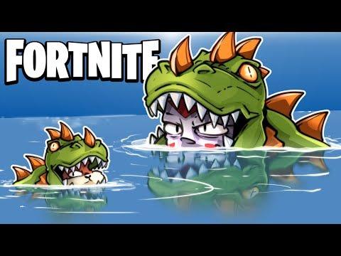 FORTNITE BR -  Loot Lake Traps, Pixel Art, Impulse Grenades and Fails! (Funny Moments!)