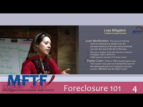 Foreclosure 101: Loss Mitigation (4/5)
