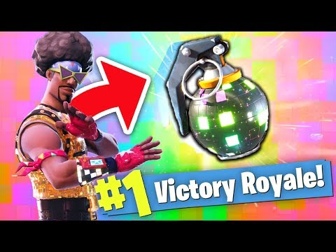 THE *NEW* DANCE GRENADE (Boogie Bomb) In Fortnite: Battle Royale