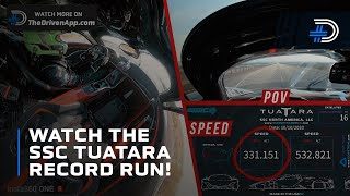 SSC Tautara sets speed record for a production car at 316 mph