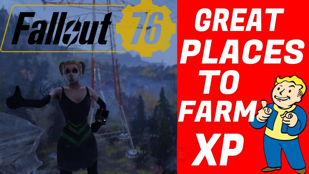Fallout 76 - Best Places To Level Up Quickly - Farming XP Part 1