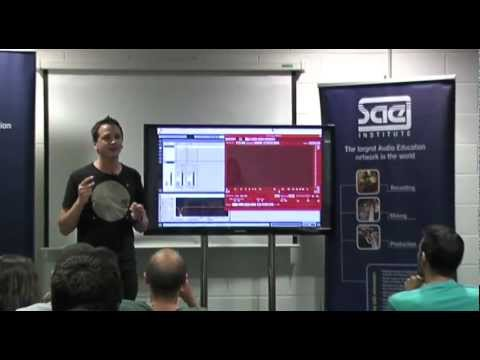 SAE Session: Técnicas de Producción de Música Electrónica, por Marc Marzenit @ SAE Institute