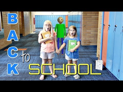 BACK TO SCHOOL Baldi's Basics in REAL Life!