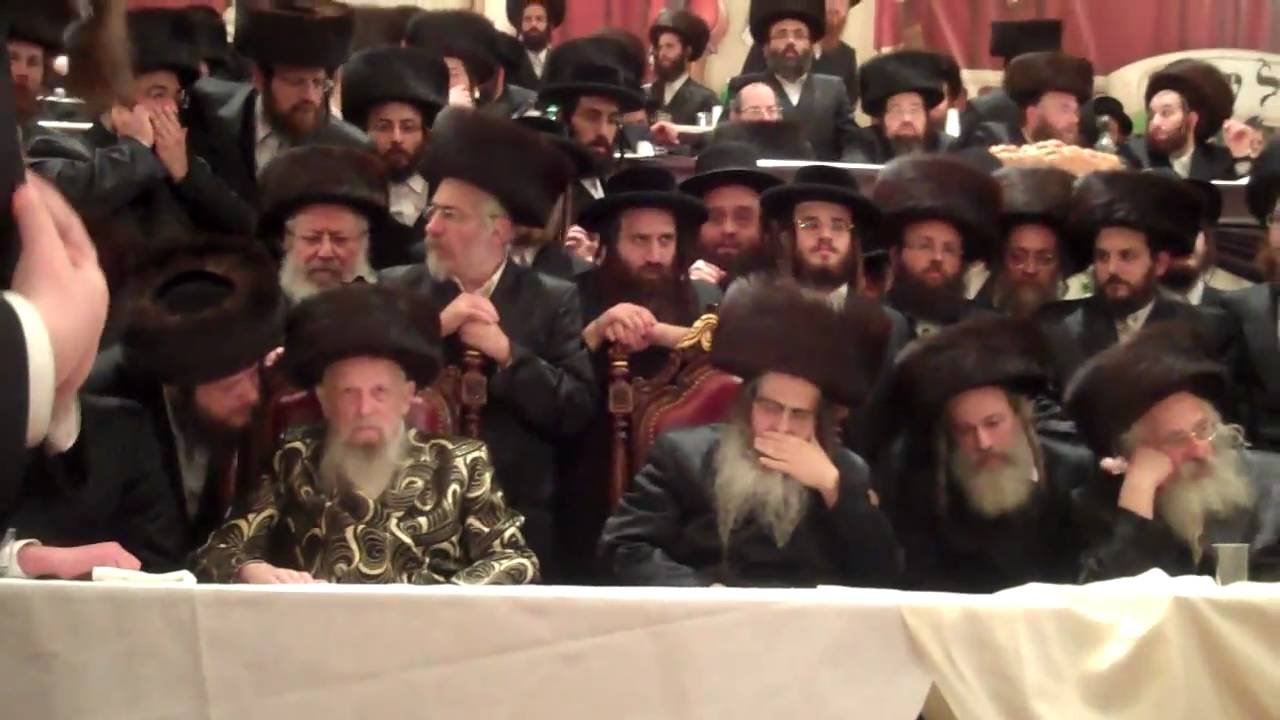Satmar Rebbe - Mitzvah Tanz