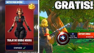 Tip to Have Skin Black Widow Suit for FREE in Fortnite! (Free Endgame Challenge Rewards)