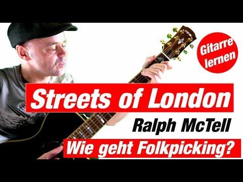 Wie spielt man Streets of London Online Gitarre lernen