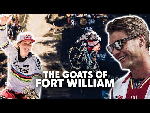 The Iconic Winning Runs of Fort William 2016 | Rachel Atherton & Greg Minnaar Downhill Dominance