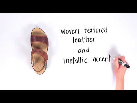 Video for Lisette Heel Strap Sandal this will open in a new window