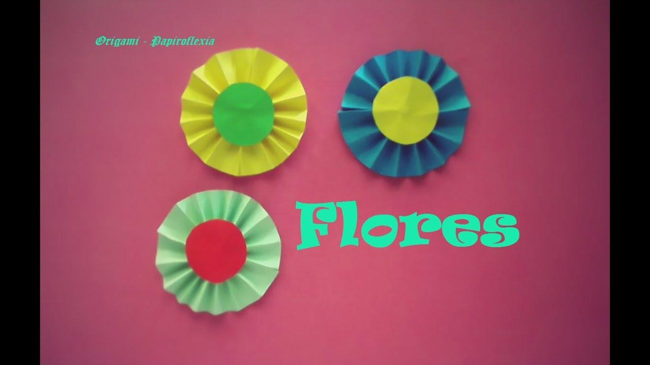flor de papel para decorar
