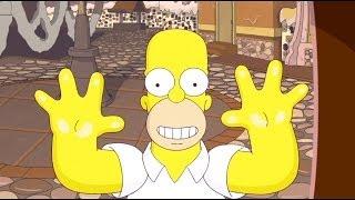 Прохождение The Simpsons Game с переводом часть 1 - Город Шоколада [HD 1080p]