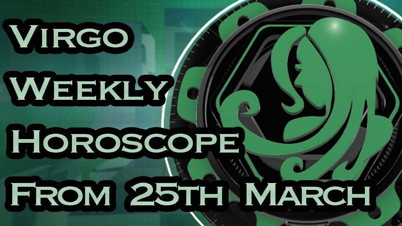 virgo horoscope 25 march