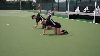 Fortitude Hockey Goalkeeping - Dynamic Warm Up - Mobilisation
