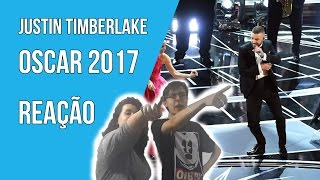 ⛔️ Justin Timberlake Oscars 2017 - Can't Stop The Feeling - REAÇÃO [REACTION]