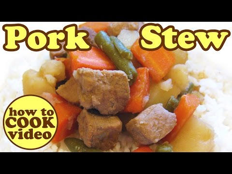 Pork Stew - Pork Tenderloin/Loin Recipes -Carne Guisada Recipe -Vegetable Dinner Ideas HomeyCircle