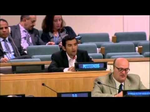 Westminster Student Presents at United Nations General Assembly