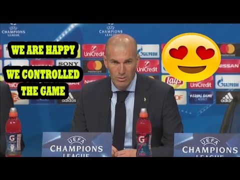 ZINEDINE ZIDANE [POST MATCH PRESS CONFERENCE] BAYERN MUNICH VS REAL MADRID 1-2 (25/04/2018)