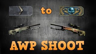 Silver 1 to Global Elite ★ AWP Shoot...