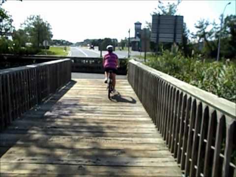 Cross Island Bike Trail - Kent Island, Maryland