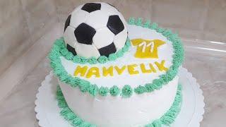 #торт с #футбольным #мячом///#Fussball Torte