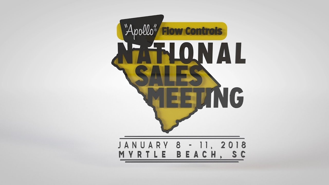 Apollo Flow Controls - National Sales Meeting 2018 - Opening Video