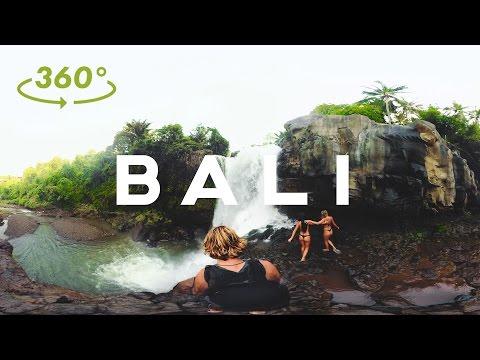 360 वी.आर. // साहसिक मोड में बाली // सैम इवांस - 4K