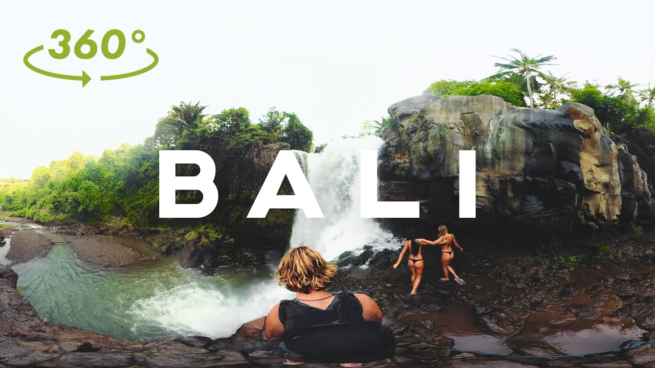 BALI in 360 VR // ADVENTURE MODE // Sam Evans - 4K