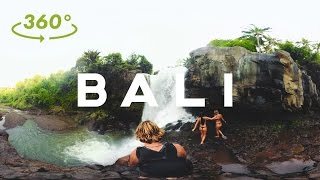 BALI in 360 VR // ADVENTURE MODE // Sam Evans - 4K