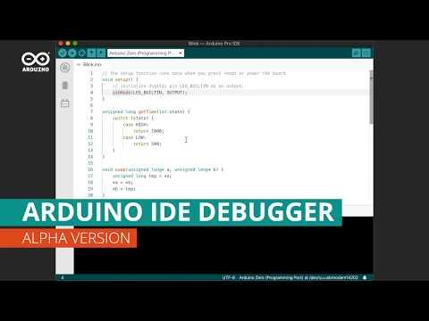 Arduino Pro IDE Debugger