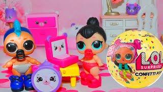 Новый телефон и новый компьютер подарки для Перчинки и Сахарок! Видео для девочек про куклы лол