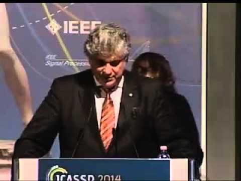 ICASSP 2014 Awards Ceremony