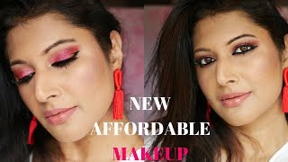 TESTING NEW MAKEUP | FULL FACE TUTORIAL MAKEUP REVOLUTION, NYX, NYKAA , EX1 INVISIWEAR, KAT VON D