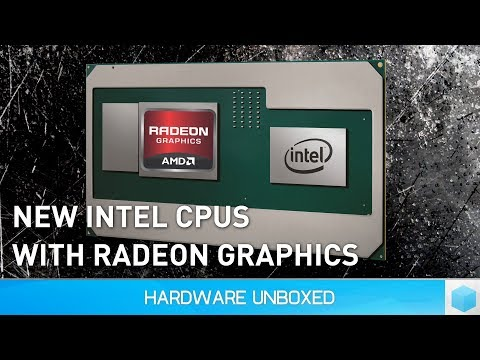 AMD Inside! 8th Gen Intel Core CPUs with AMD Radeon Graphics