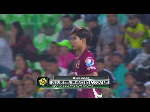 El debut esperado de Diego Lainez: 31 minutos en los que demostró su talento en Copa MX